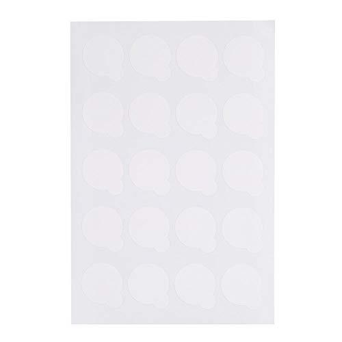 5 Feuilles Étanche Cils Extension Colle Titulaire Palette Papier Pads Stand Application Outil Cils Colle Pad Pad Stand Cils Colle Palette Cils Colle Colle Palette Papier
