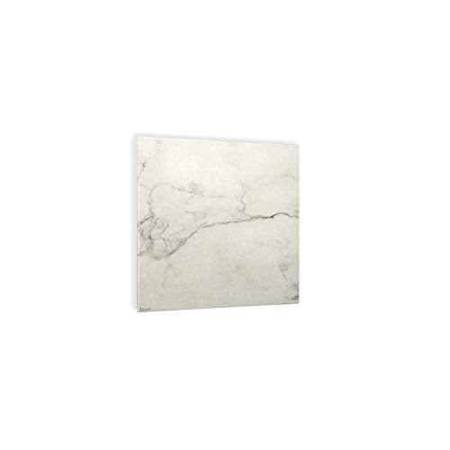 ETHERMA LAVA® Keramik-Infrarotheizung, 500 W, 63 x 90 x 3 cm, Oberfläche: 6 mm Spezialkeramik, Calacatta, Made in Austria, TÜV, 5 Jahre Garantie, LAVA2-CERAMIC-500-CL
