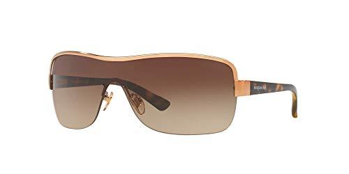 Sunglass Hut Collection Unisex Sunglasses, Bronze-Copper Lenses Metal Frame, 34mm
