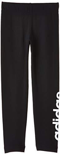 adidas Essentials Linear, Tights Bambina, Black/White, 13-14A
