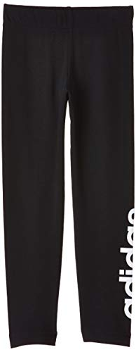adidas Essentials Linear, Tights Bambina, Black/White, 13-14A