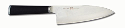 Miyako Japanese 33 Layers Damascus Steel Deba Knife, 6-1/2-In, With Wooden Handle: Chefs' Best And Favourite Knife