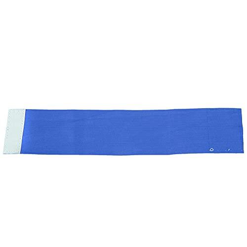 Eosnow Bandas de Jugador Ajustables Brazaletes de fútbol Tamaño Ajustable para Partidos de fútbol(Azul)