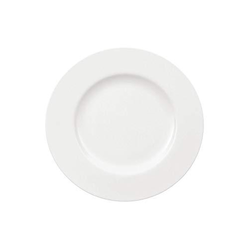 Villeroy & Boch - Assiette de Petit-Déjeuner Royal, Petite Assiette en Porcelaine Bone Premium de Qualité, Blanche, Compatible Lave-Vaisselle, 220 mm