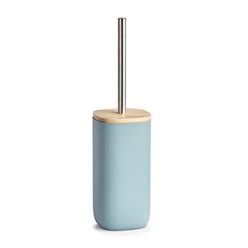 Zeller WC-Bürste, Polyharz, Blau, ca. 10 x 10 x 37,5 cm