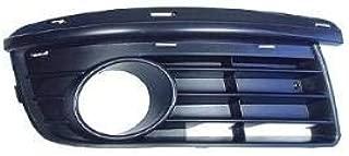 W//o Fog Lamps MicksGarage 351026L-4991 Hatchback Front Bumper Grille L.H