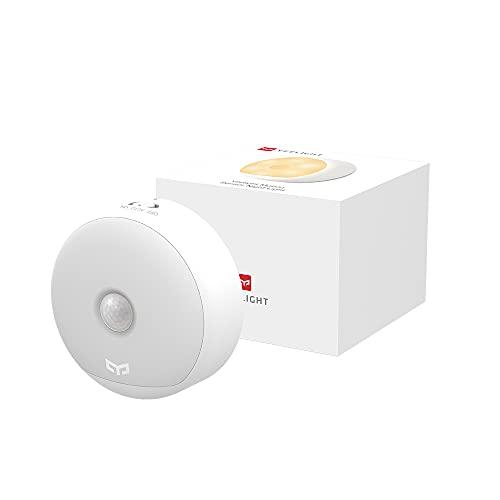 Lámpara nocturna LED Luz con Sensor de Movimient, Carga USB Habitaciones de Niños Baños Pasillos Escaleras
