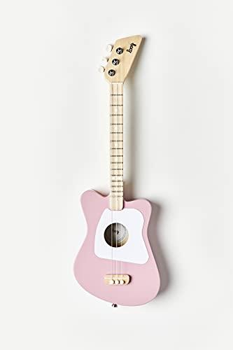 Loog 3 String Acoustic Guitar, Pink (LGMIM)