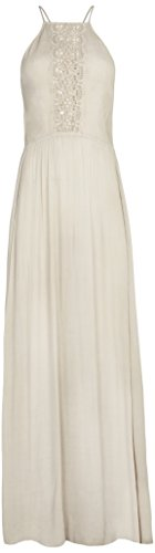 BDBA, Long Dress - Vestido para mujer, color stone, talla 40