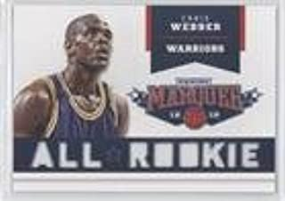 Chris Webber (Basketball Card) 2012-13 Panini Marquee - All-Rookie Team Laser Cut #20