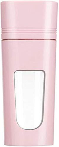 Mini batidor de smoothies Tritan Bpa 350 ml, ideal para batidos, batidos de leche, pachos, helados compactos y triturados, frutas en cubitos, azules, rosas.