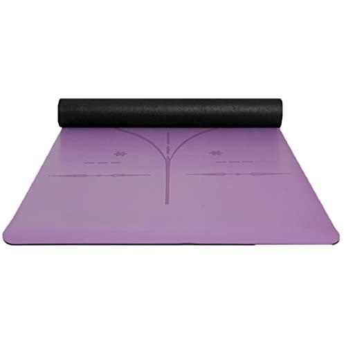 Caucho natural Pu Yoga Mat Alto Grado Antideslizante Multi-Capa Comodidad Ejercicio En Casa Pilates Ejercicio Fitness Accesorios Deporte