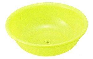 Inomata Japanese Plastic Basin Tub Leaf Series Green