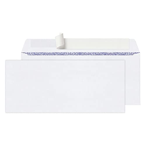 Office Depot Clean Seal(TM) Business Envelopes, 10 (4 1/8in. x 9 1/2in.), Box of 100, 77100