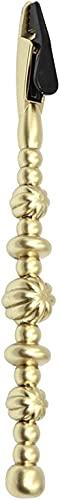 Ayudante de joyería de compañero de herramienta de pulsera, ayudante de fácil uso de joyería para collares, cierres de relojes y joyas y cierres de brazaletes (Dorado)