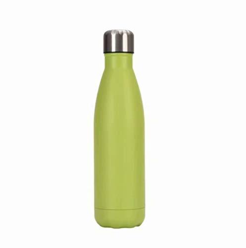 Thermobecher Doppelwandige Trinkflasche Edelstahl Sportflasche , für Trinkflasche Kinder, Camping, Wandern, Reisen