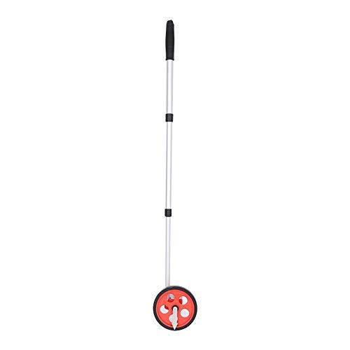 belukies Rueda de medición de Distancia, odómetro Plegable de Alta precisión,Estable Distancia de la Rueda Examinando el telémetro