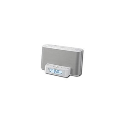 Sony ICF-CS10iP Speaker Dock Clock Radio for iPod & iPhone - white