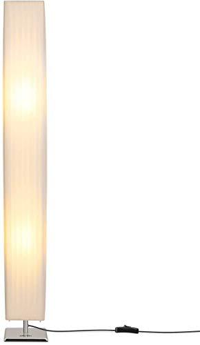 JIN Lámpara de Pie Led Creativa, Lámpara de Pie Minimalista Moderna de 46 Pulgadas de Altura, Lámpara de Pie Minimalista Moderna con Tela de Tela, Salón Moderno Sofá Lámparas de Pie para Dormitorios,
