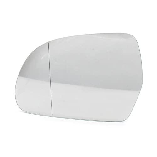 YYHHADM Cristal del espejo retrovisor del ala del lado izquierdo del conductor...