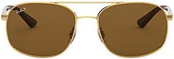 Ray-Ban RB3593 Metal Square Men's Sunglasses