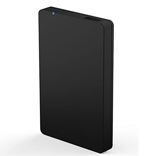 Tbagem-Yjr Hard Disk Esterno, Ssd Esterno Drive Impermeabile Resistente agli Urti Esterne USB 3.1 Leggi Fino A 140 / MB/S-1 Anno di Servizio di Salvataggio (Color : Black, Size : 750GB)