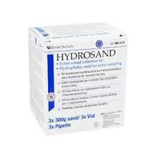 Henry Schein HS-Katzenstreu Hydrosand zur Urinprobengewinnung, 3 x 300 g/3 x Pipette