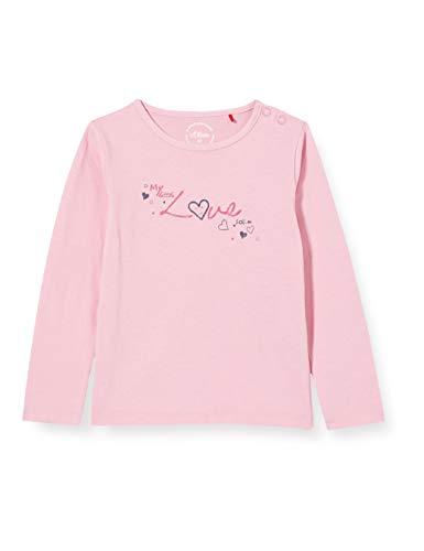 s.Oliver Junior Baby-Mädchen 405.12.012.12.130.2056414 T-Shirt, Rosa, 86