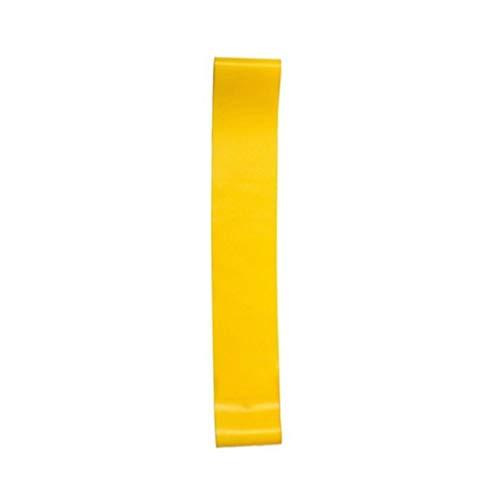 Kein Gedruckter Latex-Zugring Widerstandsband Zugring Fitnessübung Yoga Gelb 1St. 600Mm * 50Mm * 0,7Mm