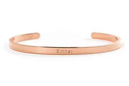 SINNER und SAINT Armreifen – aus Edelstahl in Gold, Silber und Rose Gold – BERGERLIN Specials