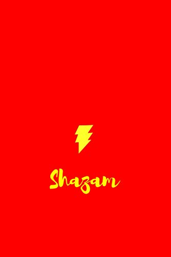 Shazam Notebook: 120 pages. 6x9