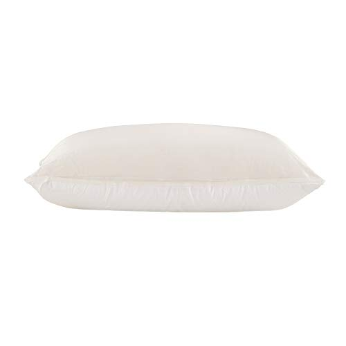 LilySilk Seide Kissenbezug Kissenhülle Uni Unterseite von Baumwolle mit Reißverschluss 1 Stück Wende Kissen (80x80cm - 2er Pack, Elfenbein)