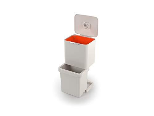 Joseph Joseph Totem Pop - 60L Unidad de Reciclaje y Separación de Residuos - Roca