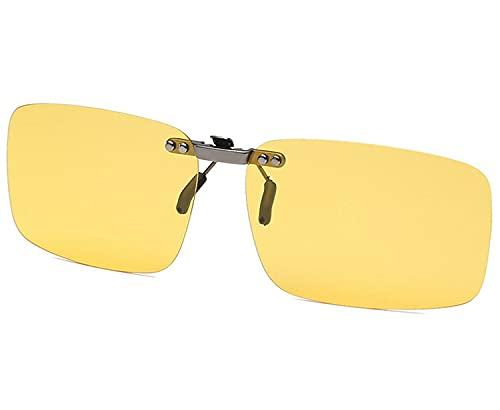 クリップオン サングラス 偏光サングラス クリップ UV400 夜間運転 偏光スポーツサングラス 偏光レンズ メガネの上からつけられる 付きサングラス 偏光クリップ眼鏡 紫外線カット 前掛けクリップ式サングラス
