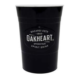 Bacardi Oakheart Becher Plastik Kunststoff Partybecher