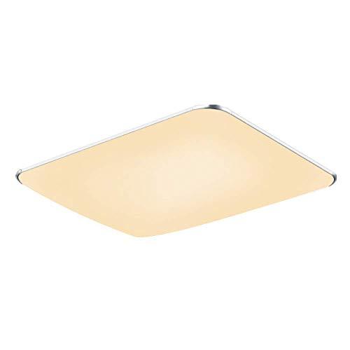 SAILUN 48W Bianco caldo LED Moderna Lampada Da Soffitto Lampada Da Soffitto Disimpegno Camera Da Letto Della Lampada Soggiorno Energia Cucina Risparmio Luce 85V-265V 50Hz (Bianco Caldo)