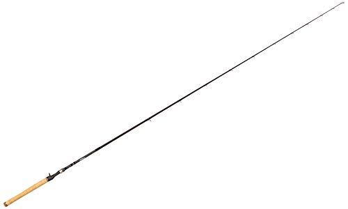 Dobyns Rods 735CB Champion Series Heavy Fast Glass Crankbait Rod, 7'3'/Medium, Black/Blue