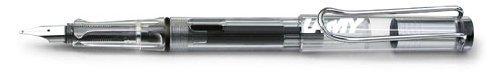 Lamy Vista Fountain Pen Demonstrator, Clear Broad Nib (L12B)
