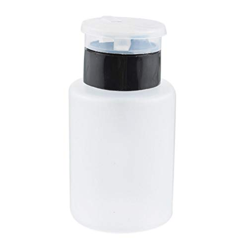 WWLZ Beauty Tools dispenserfles 60 ml / 100 ml vloeibare alcoholpers nagellak remover dispenserpompen lege fles