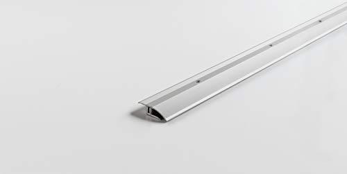 PARADOR Werkzeug Anpassungsprofil Aluminium Silber für Vinyl/Laminat Bodenbeläge 7-15 mm