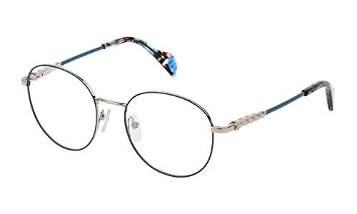 TOUS S0350818 Marcos para gafas recetadas, Plateado, 51 mm para Mujer