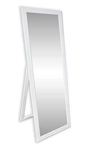 Ramix STANDSPIEGEL, Stehender Spiegel, 160 x 50cm, 3 Farbe Optional, Weiß Matt