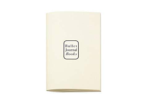 N1015R3 Einlagen für Bullet Journal 10x15 cm, 2er Set 'Books & ivory' (Bücher &...