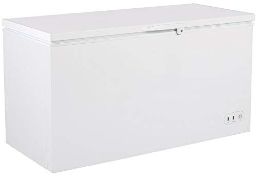 DUURA DCF16 Heavy Duty Commercial Sub Zero Chest Freezer Locking Lid NSF Garage Ready, 16 Cubic Feet 450 Liter 60.2 Inches Wide, White