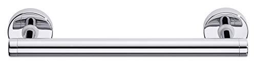 tesa 40230-00000-00 draad Haltegriff für das Bad inkl. Klebelösung, 60mm x 317mm x 75mm Badewannengriff, Silber