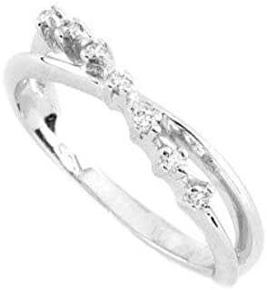 Gems&Gold Anello in Oro Bianco 18Kt e Diamanti (14)