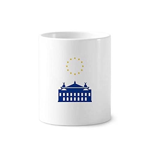 House France - Soporte para bolígrafo de cepillo de dientes, diseño de la Unión Europea