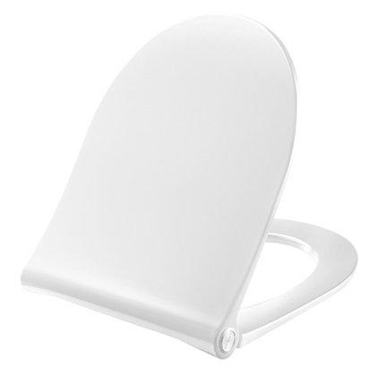 WC-Sitz Pressalit D 2m. Deckel weiß mit Absenkautomatik u. lift-off 994000-DF4