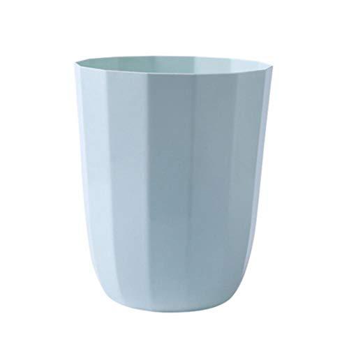 EDCR Waste Bin Small Trash Can Desktop Litter TrashTabletop Trashbox Simple Polygon Trash Can-A4