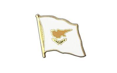 Zypern Flaggen Pin, zyprische Fahne 2x2cm, MaxFlags®